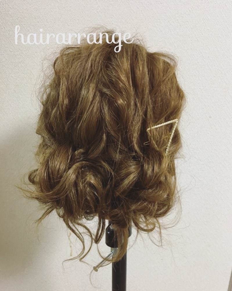 可愛いを極めたふわふわスイートヘアアレンジ♡top