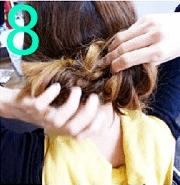 ねじねじだけでできる!☆簡単キレイなまとめ髪8