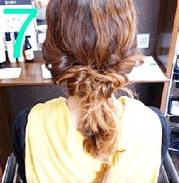 ねじねじだけでできる!☆簡単キレイなまとめ髪7