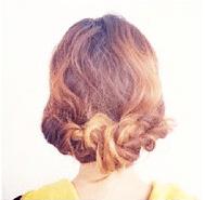 ねじねじだけでできる!☆簡単キレイなまとめ髪 9