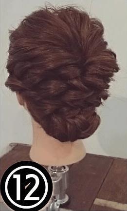 自分でできる!格上オシャレさんの結婚式お呼ばれヘアアレンジtop