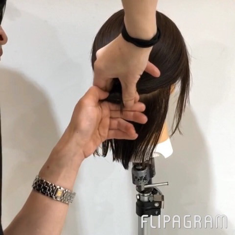 短い髪でもできちゃう!?ルーズお団子アレンジ☆2
