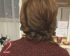 簡単♪きれいなサイドヘアアレンジ2