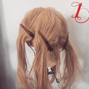 三つ編みで☆エレガントなまとめ髪1
