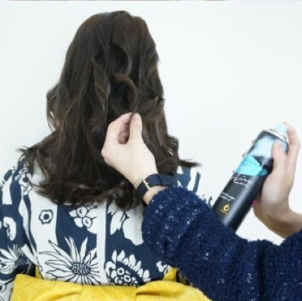 浴衣にとっておき☆ロープ編みで作るまとめ髪2
