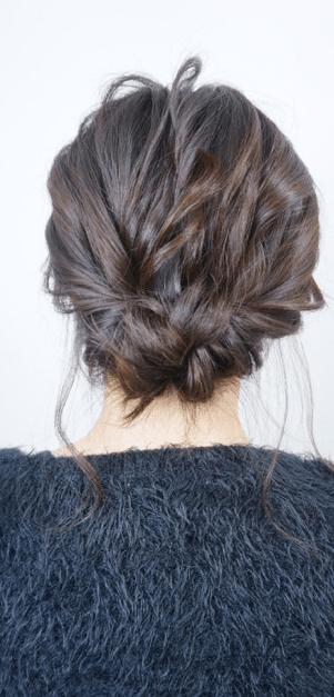 簡単♪カジュアルなまとめ髪6