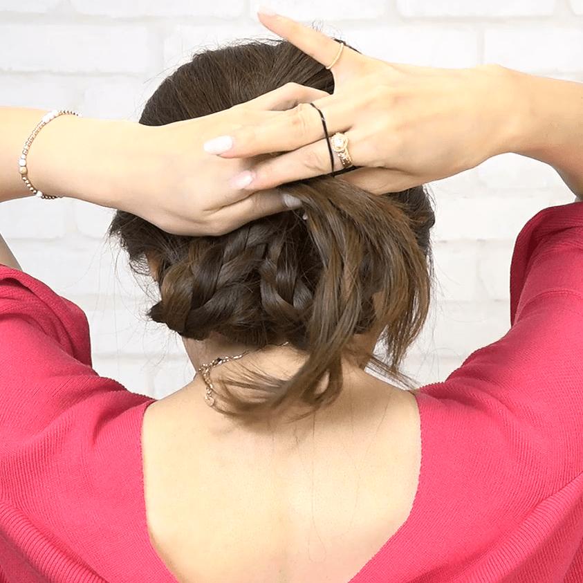 三つ編みde可愛くなりたいの。ざっくり編みおろしスタイル☆ -東條恭子-5