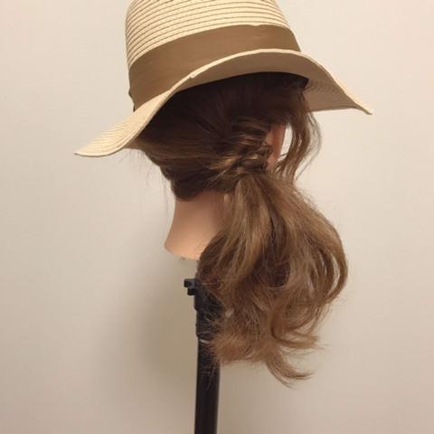 麦わら帽子に合う!夏にやりたいスッキリアレンジ♪トップ