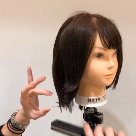 【毛量が多い人用】重たく見えないオシャレな巻き方のコツ☆2