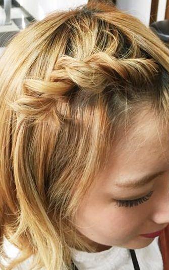 伸ばし中でもOK◎前髪アレンジ5