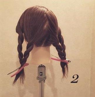 ゆるふわキャンディー☆三つ編み2