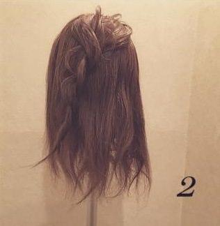 ロープ編みdeふんわり流しヘア3