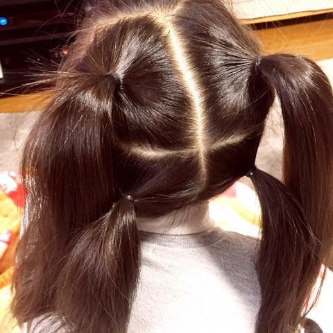 上品×カワイイ♪三つ編みまとめ髪1