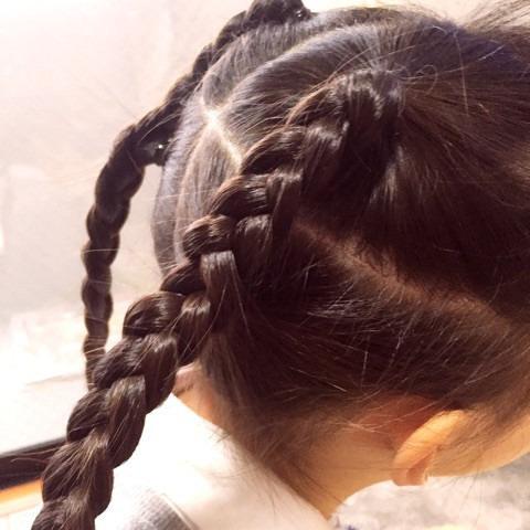 上品×カワイイ♪三つ編みまとめ髪3