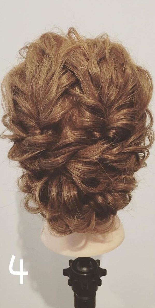 ダブルくるりんぱdeまとめ髪4
