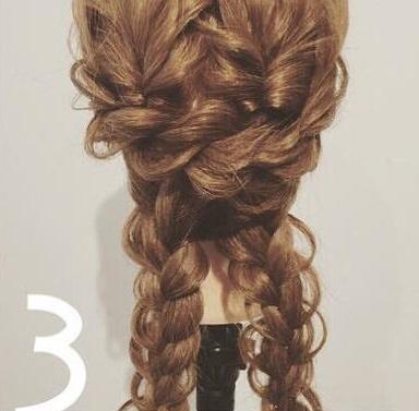 ダブルくるりんぱdeまとめ髪3