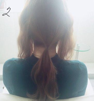 フェミニンなふんわりまとめ髪☆2