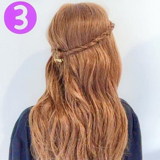 3分でできる!簡単前髪アレンジ♪3