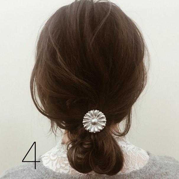 【ミディアムヘアさんへ】簡単可愛い3STEPお団子☆TOP