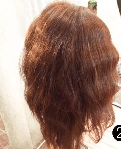 編み込み×3回☆インパクト抜群なまとめ髪1