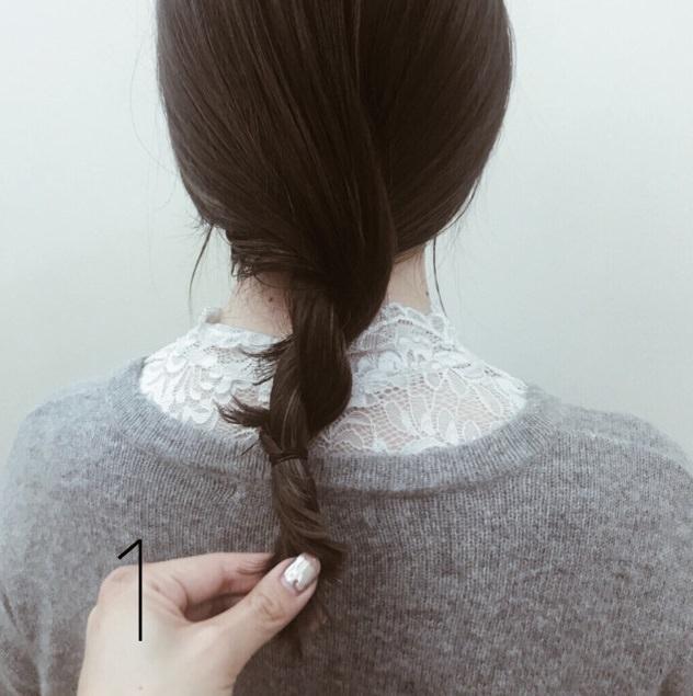【ミディアムヘアさんへ】簡単可愛い3STEPお団子☆1