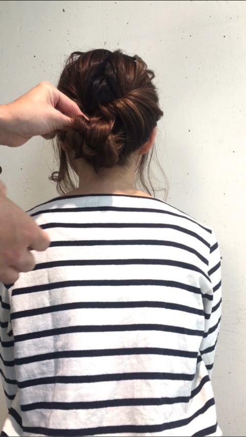 こだわってるように見える☆まとめ髪アレンジ6