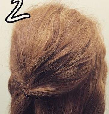 """アンニュイな""""ほわほわ""""まとめ髪♪2"""