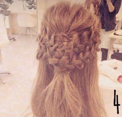 ドレスアップするときはこの髪型で決まり!大人可愛いまとめ髪♪4