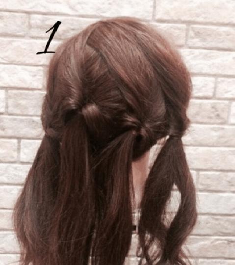 広がる髪もかわいくくるりんぱ!1.2