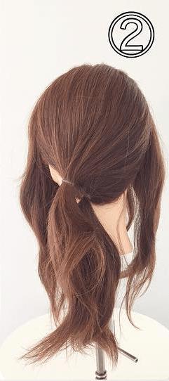 オトナ女子♡ノットヘア×サイドポニー 2