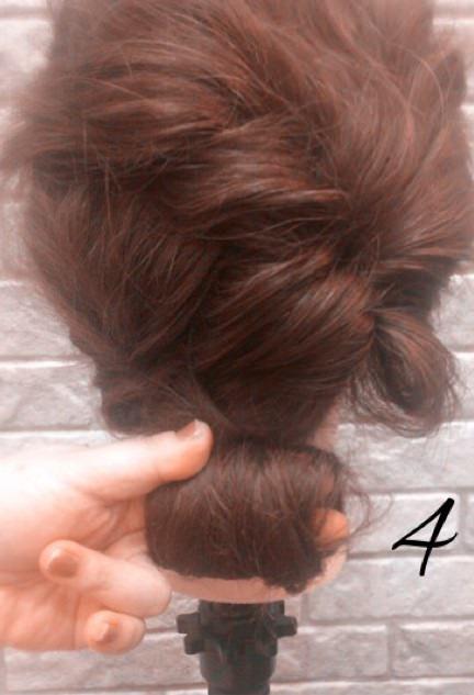 結婚式お呼ばれアレンジ☆ボリュームまとめ髪4