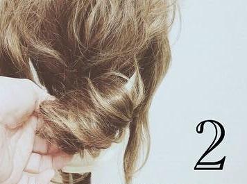 簡単に作れるこなれ感maxなまとめ髪♪2
