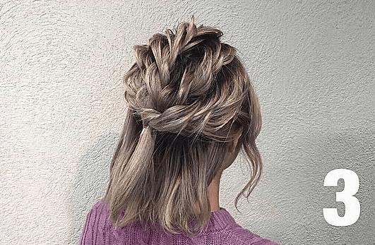 【短い髪用】個性派さんに是非やって欲しいアップヘア!3