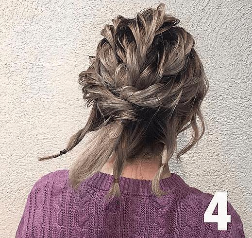 【短い髪用】個性派さんに是非やって欲しいアップヘア!4