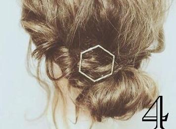 簡単に作れるこなれ感maxなまとめ髪♪4