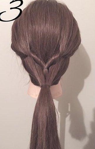 ぎゃくりんぱを使ったゆるふわまとめ髪3