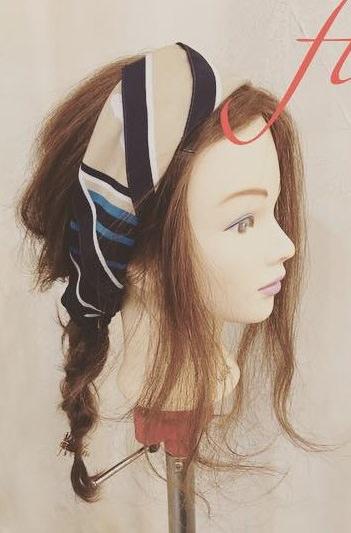 スカーフがカワイイ♡編み下ろしアレンジsaide
