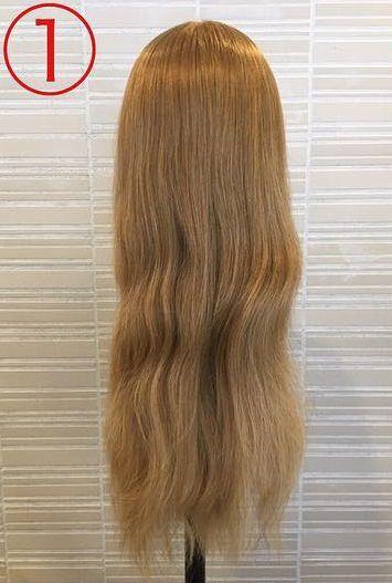 春っぽくて可愛い♡ふんわりまとめ髪1
