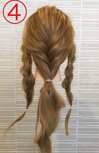 春っぽくて可愛い♡ふんわりまとめ髪4