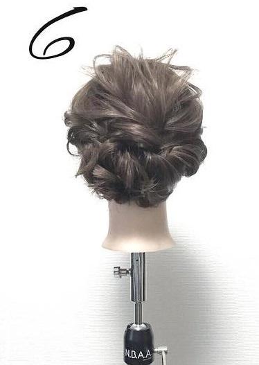 髪が短くても大丈夫!こなれ感たっぷりのアップスタイル☆top