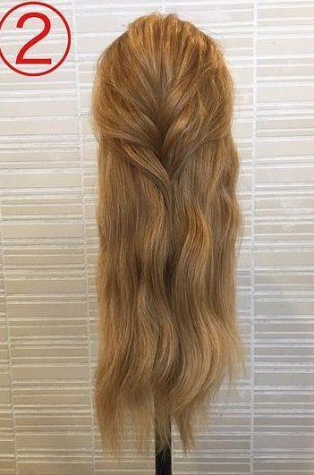 春っぽくて可愛い♡ふんわりまとめ髪2