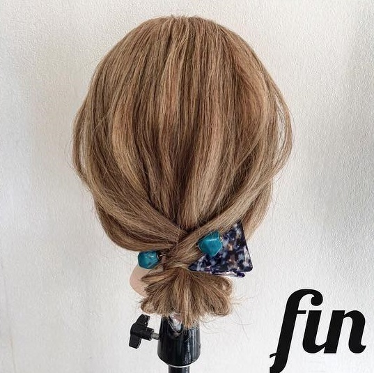 ピン無しでできる♪簡単で可愛いまとめ髪アレンジ ☆TOP