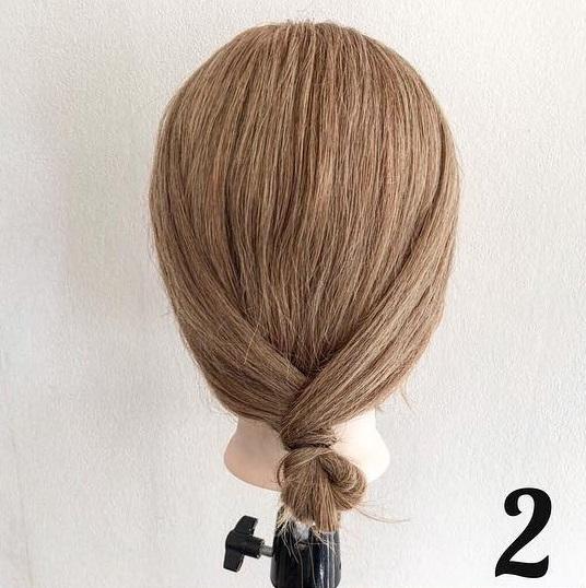 ピン無しでできる♪簡単で可愛いまとめ髪アレンジ ☆2