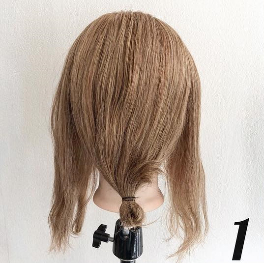 ピン無しでできる♪簡単で可愛いまとめ髪アレンジ ☆1