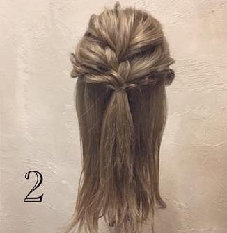 セリフでも可愛く♡お呼ばれの日にピッタリのエレガントなまとめ髪◎ 2