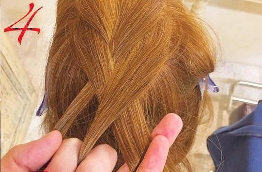 簡単なのに上級者見え!カワイイ二つ編みアレンジ♡ -4
