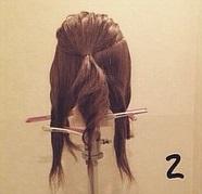 お呼ばれの日にしたい♡ツイストを使ったダウンヘアアレンジ☆2