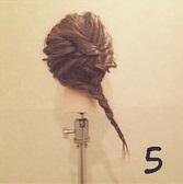 清楚な印象になれちゃう◎ワンピースに合わせたい編みおろしアレンジ5