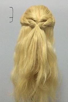 まるでバラ?!華やかでかわいい編みおろしアレンジ♡3