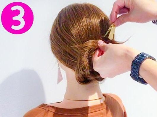 ママさん必見♪子どもの行事に参加するときにぴったりのまとめ髪アレンジ3